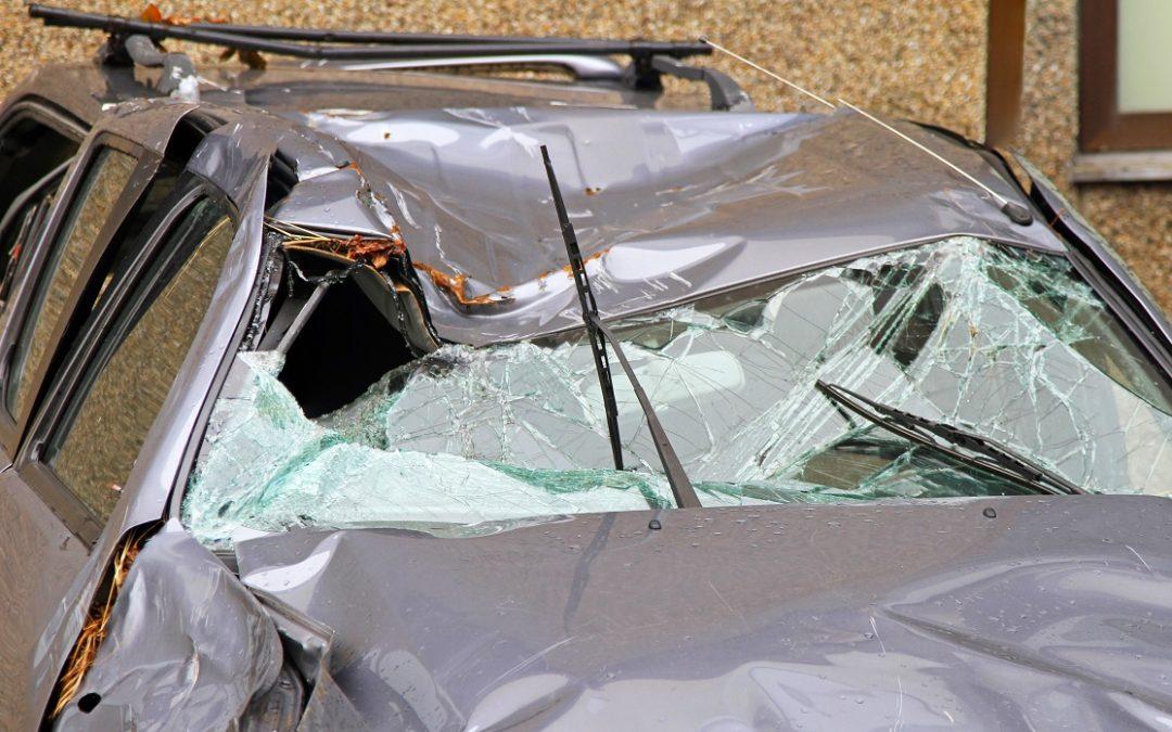 Accidente por Volcadura en San Antonio deja a una mujer en estado crítico