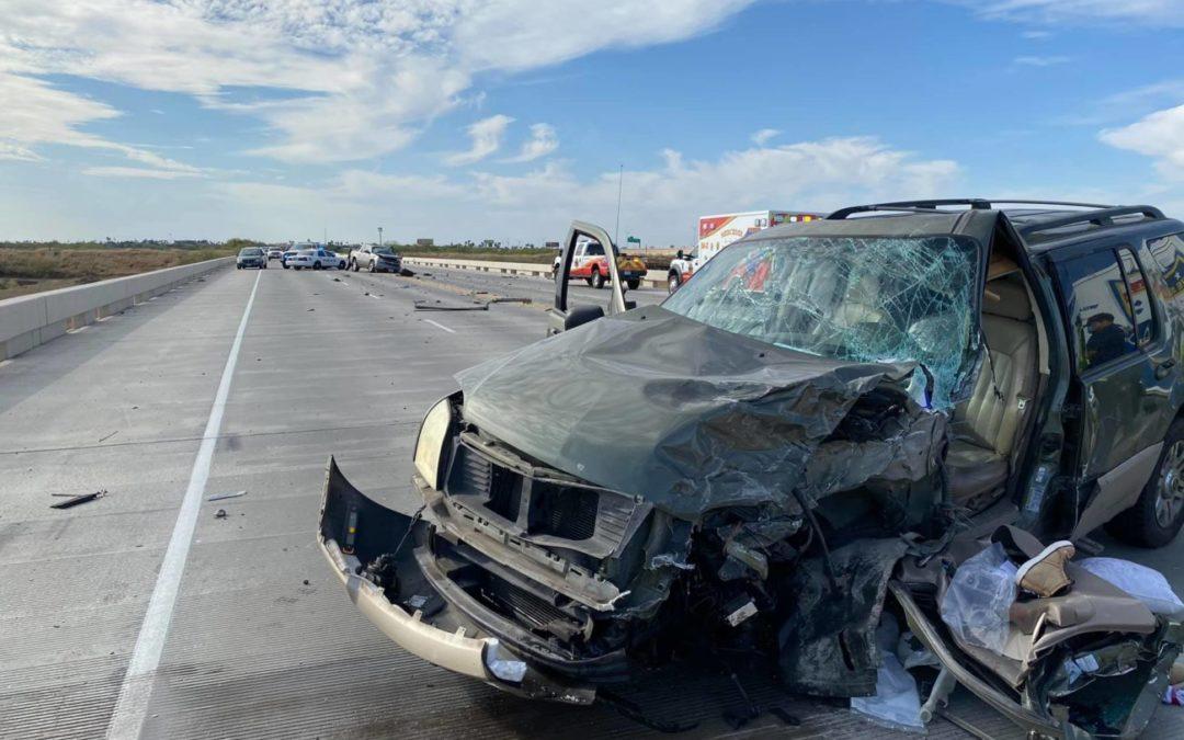 Accidente en la Business 83 que involucra a un conductor ebrio deja  lesionados graves