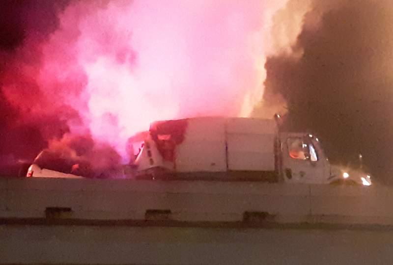 Accidente involucrando Camiones Barrenderos deja un Muerto en Houston