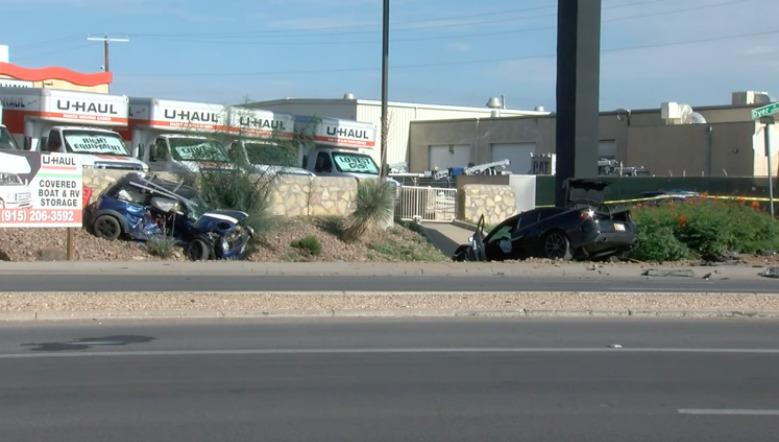 Choque de dos vehículos en noroeste de El Paso deja a 2 muertos y a 1 herido